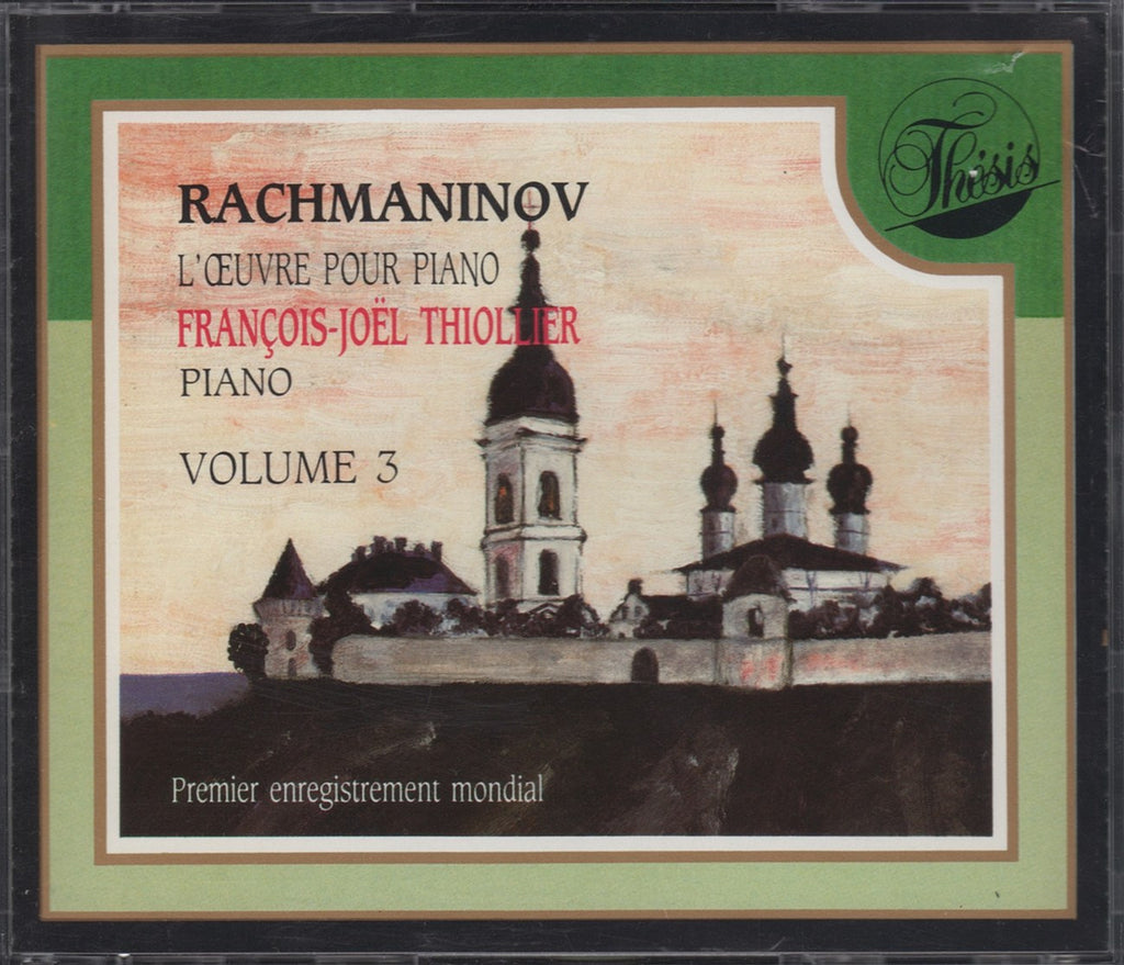 CD - Thiollier: Rachmaninoff Solo Piano Works Vol. 3 - Thesis THC 82006 (2CD Set)