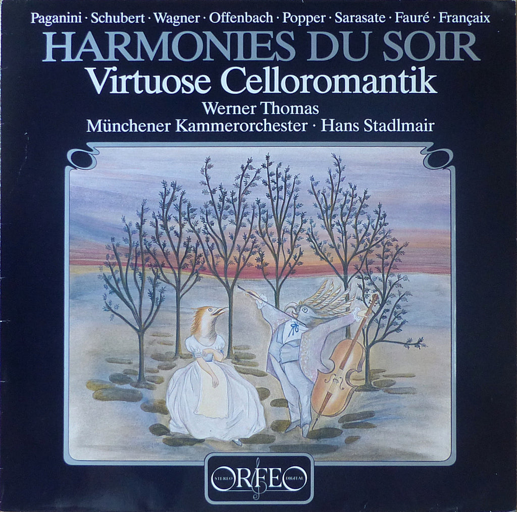 "Thomas: ""Harmonies du Soir"" (cello encores with orchestra) - Orfeo S 131 851 A"