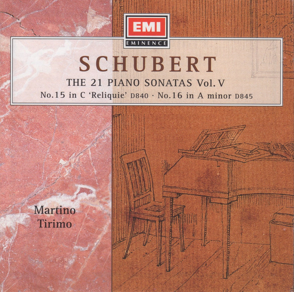 CD - Tirimo: Schubert Piano Sonata Vol. V (D. 840 & D. 845) - EMI 7243 5 66131 2 6 (DDD)