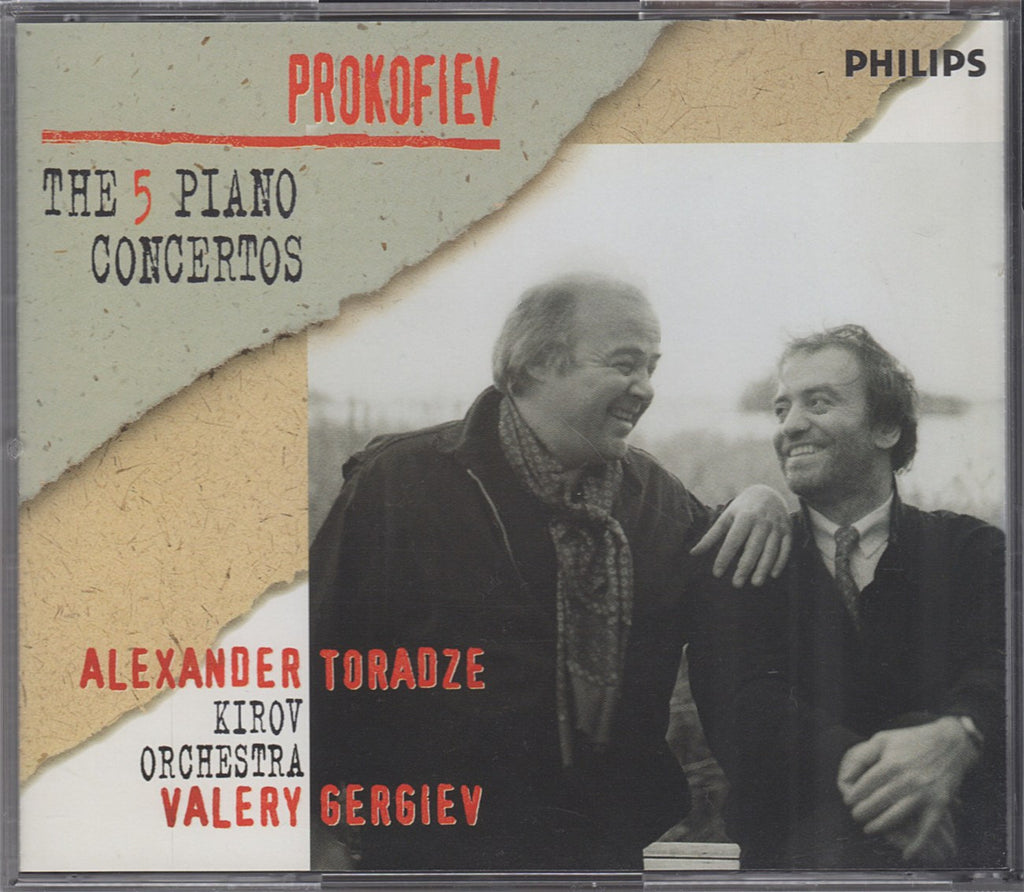 CD - Toradze/Gergiev: Prokofiev Piano Concertos 1-5 - Philips 289 462 048-2 (DDD) (2CD Set)