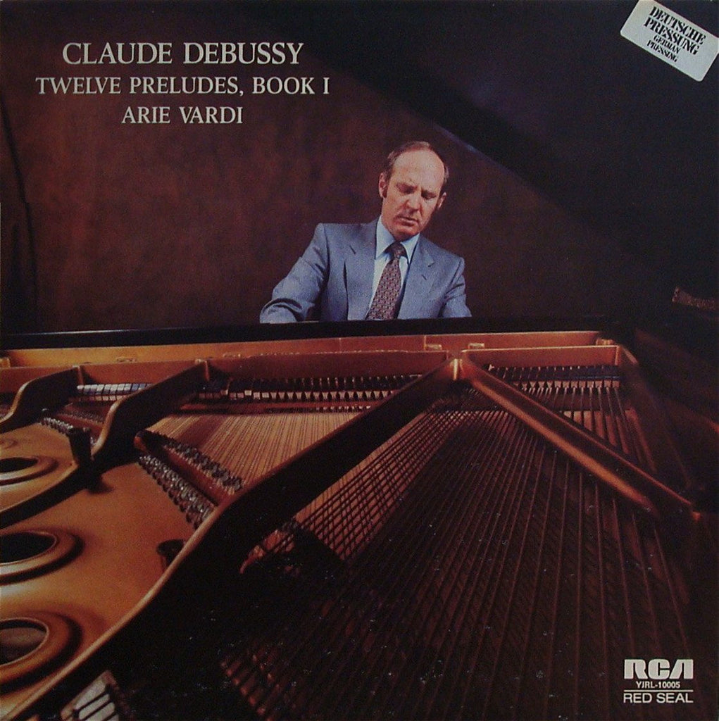 LP - Arie Vardi: Debussy 12 Preludes For Piano Book I - RCA YJRL-10005