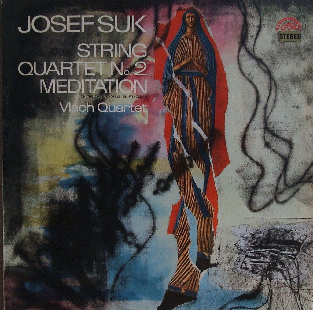 "LP - Vlach Quartet: Suk String Quartet No. 2 + ""St. Wenceslas"" Meditation - Supraphon SUA ST 50818"