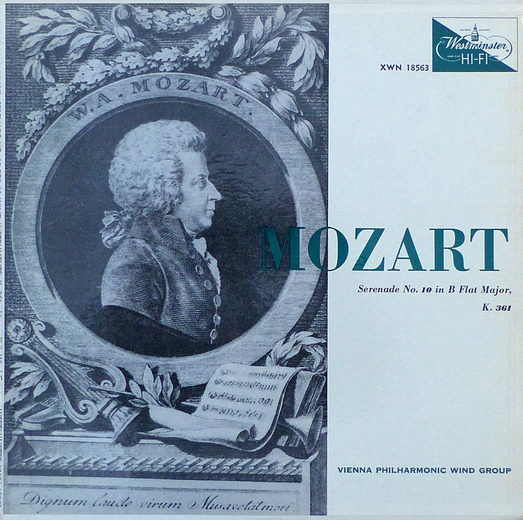 VPO Wind Group: Mozart Serenade K. 361 - Westminster XWN 18563