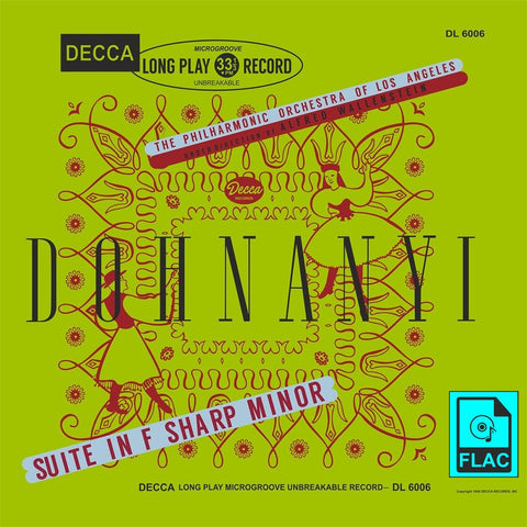 Wallenstein: Dohnanyi Suite in F-sharp minor - Decca DL 6006