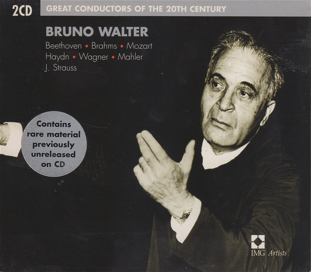 CD - Walter: Great Conductors Of The 20th Century - EMI 5 75133 2 (2CD Set)