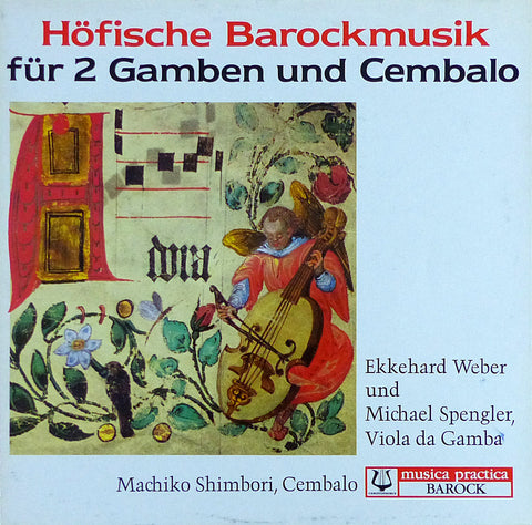 Weber & Spengler: Music for 2 Viola de Gambas - Christophorus SCGLX 73 943