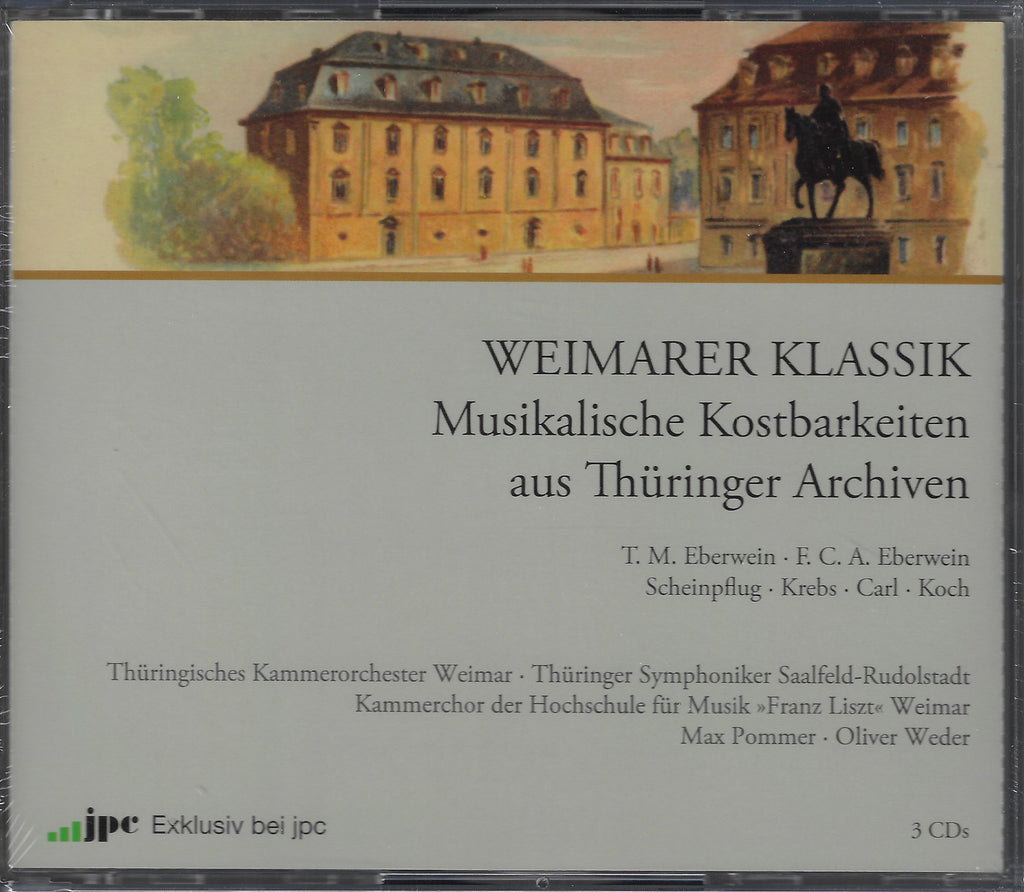 Weimarer Klassik: Krebs, Carl, Koch, et al. - JPC (3CD set, sealed)