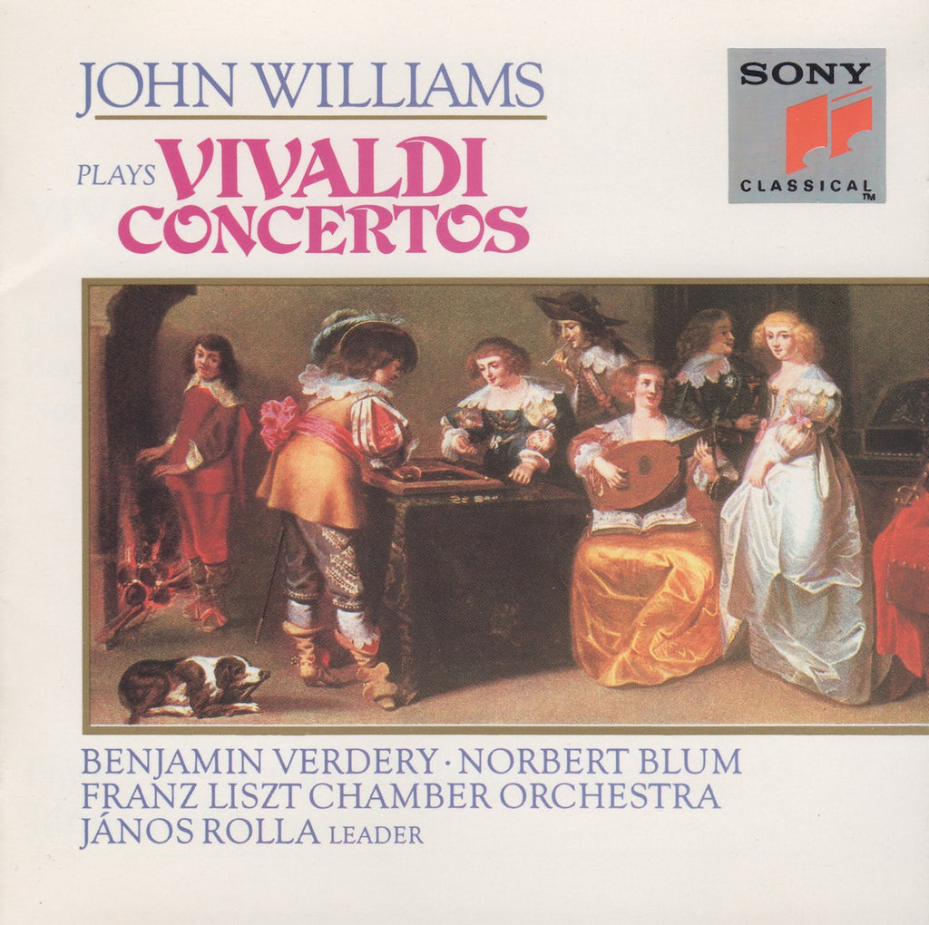 CD - John Williams: Vivaldi 6 Concertos + Trio - Sony SK 46556 (DDD)