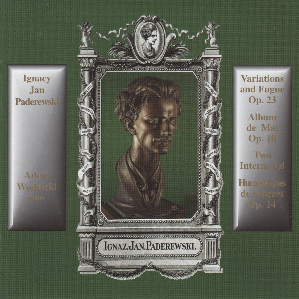 CD - Wodnicki: Paderewski Variations & Fugue Op. 23, Etc. - Altarus AIR-CD-9046 (DDD)