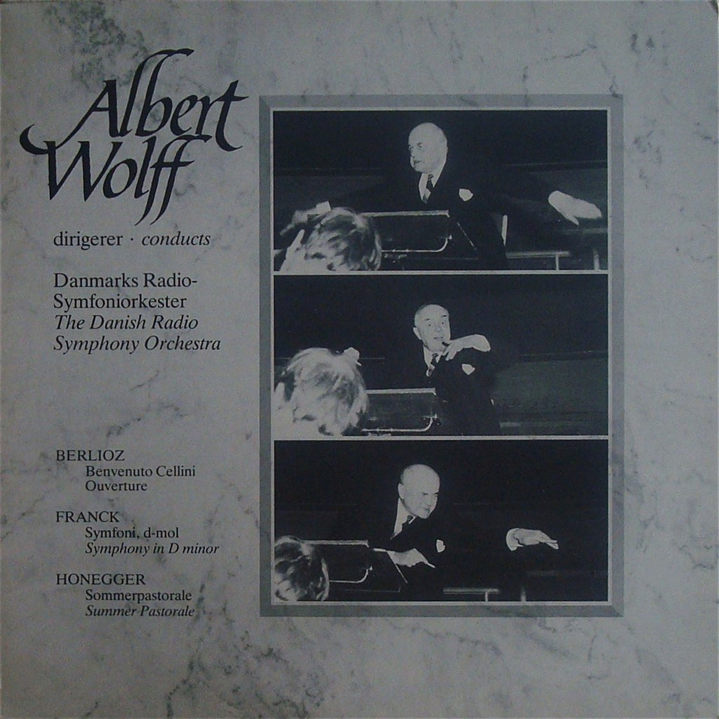 LP - Wolff/Danish RSO: Franck Symphony In D Minor, Etc. - Arte Symfonia 003