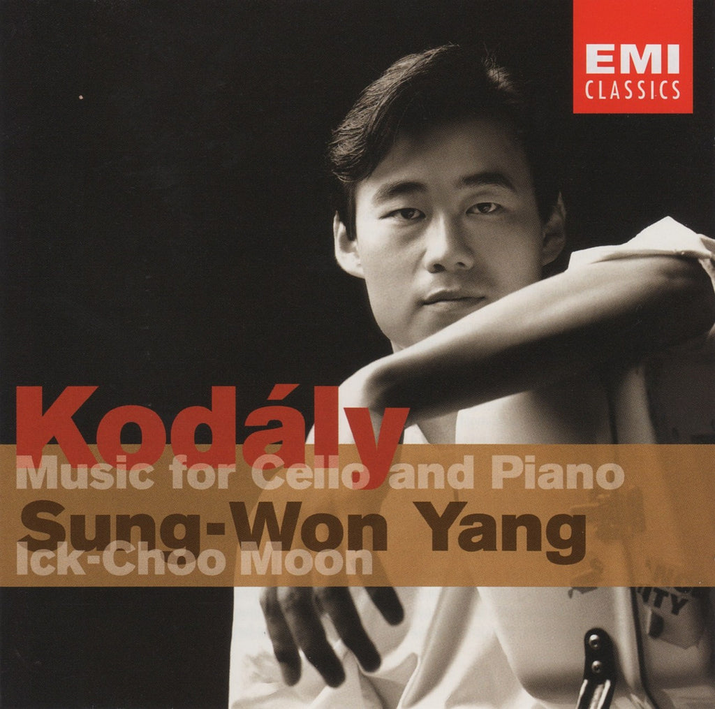 CD - Yang: Kodaly Sonata For Solo Cello Op. 8, Cello Sonata - EMI 7243 5 75685 2 4 (DDD)