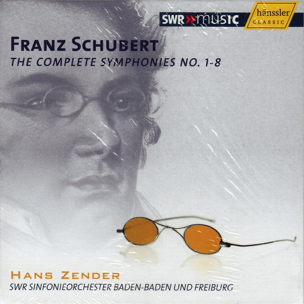 CD - Zender: Schubert Symphonies Nos. 1-8 - Hanssler CD 93.120 (8CD Box) (sealed)