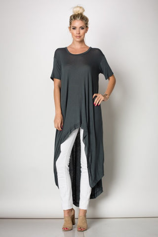 Day Dream Tunic in Coal