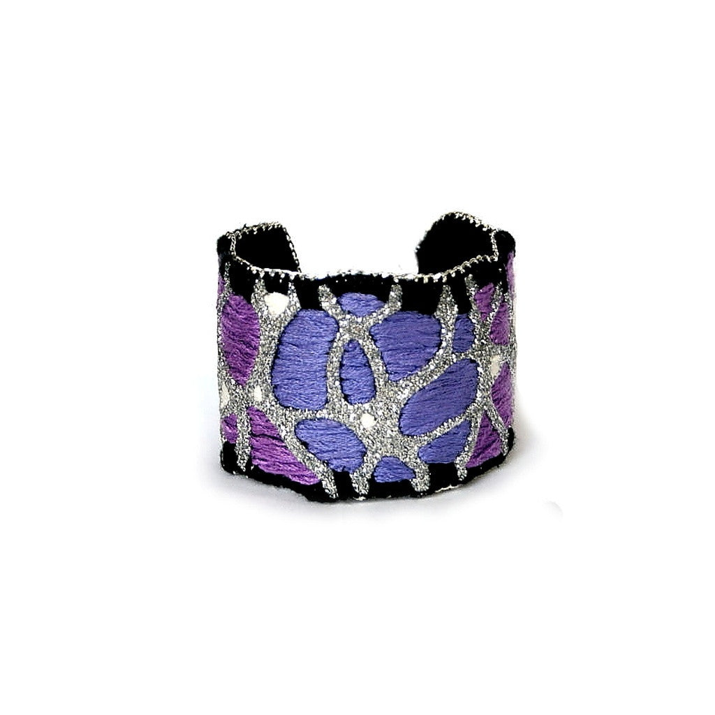 Royal Feeling Cuff Bracelet (silver color) - House of Ke'Chic  - 1