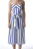 Stripey Jumpsuit - House of Ke'Chic  - 3