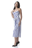 Stripey Jumpsuit - House of Ke'Chic  - 5
