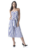 Stripey Jumpsuit - House of Ke'Chic  - 1