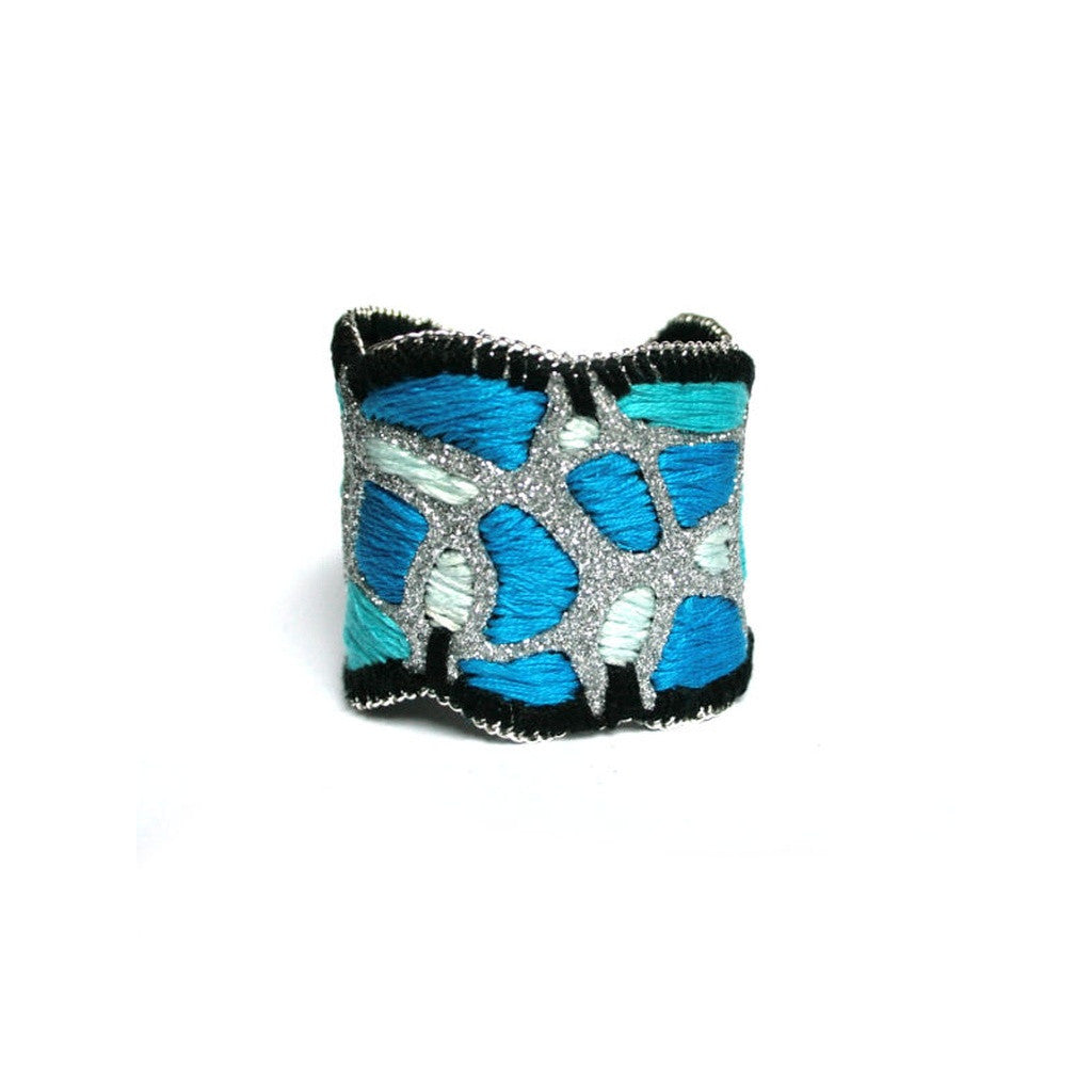 Warm Ocean Cuff Bracelet (silver color) - House of Ke'Chic  - 1