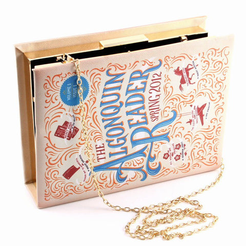 Algonquin Book Cover Clutch