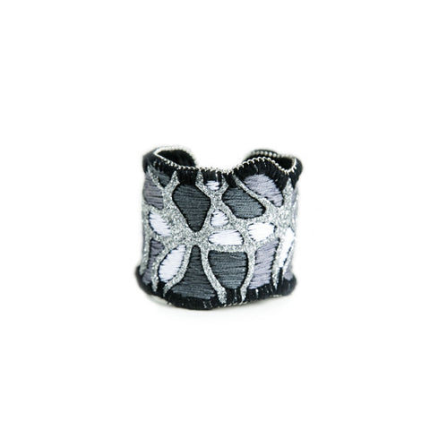 Bright Night Cuff Bracelet (silver color)
