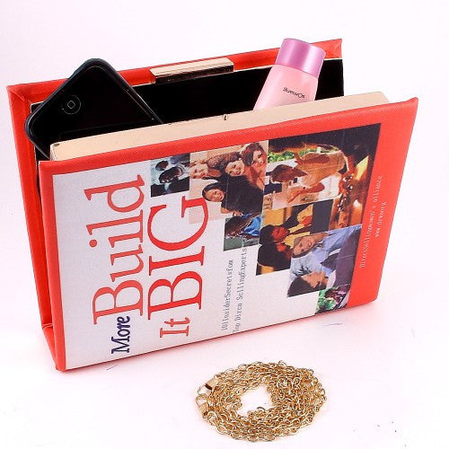 Build it Big Book Cover Clutch - House of Ke'Chic  - 1