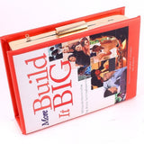 Build it Big Book Cover Clutch - House of Ke'Chic  - 2