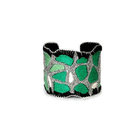 Forest Hike Cuff Bracelet (silver color)