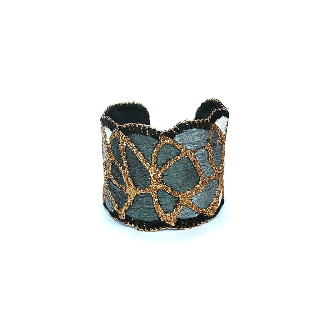 Bright Night Cuff Bracelet (gold color) - House of Ke'Chic  - 1