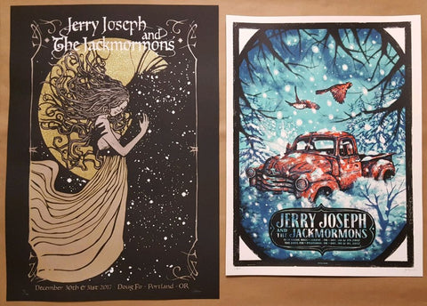 JJJ NYE 2017 > 2018 PosterS - Art by MALLEUS + ZEB LOVE