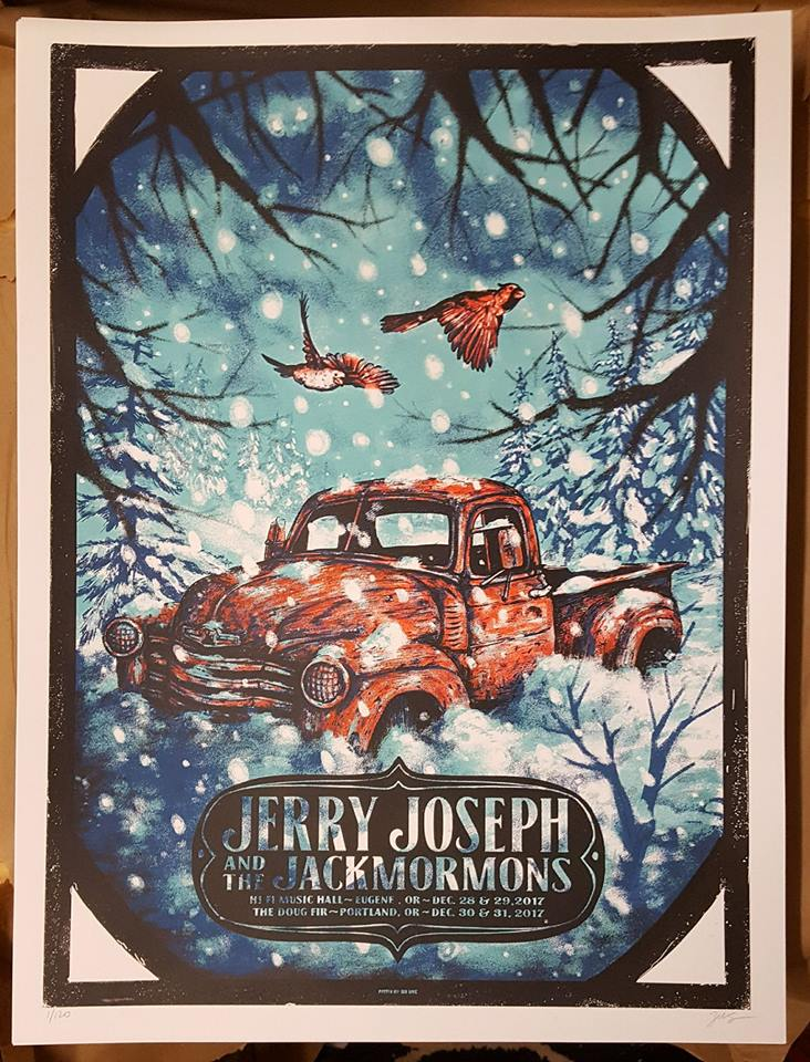 JJJ NYE 2017 > 2018 Poster - Art by ZEB LOVE