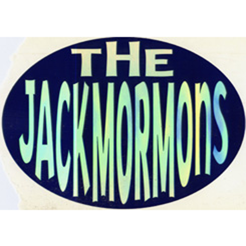 The Jackmormons Oval Sticker