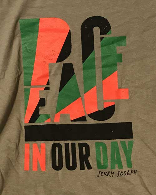 Peace In Our Day - MENS T-Shirt