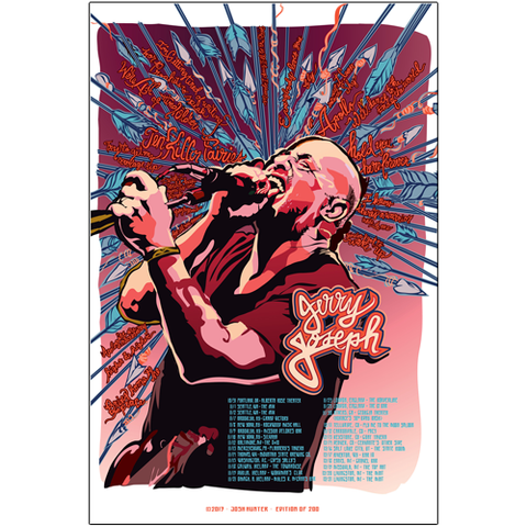 Screaming Arrows Tour Poster