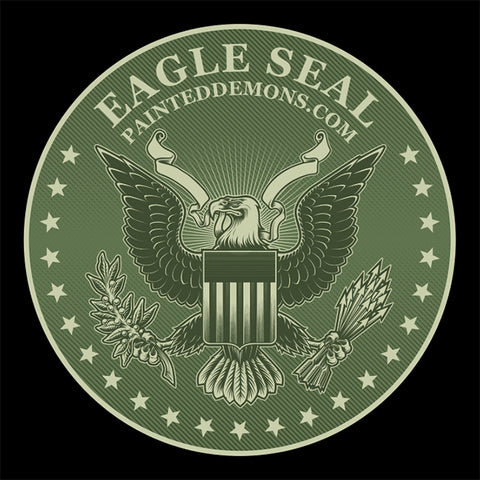 Eagle Seal (Vector Art)
