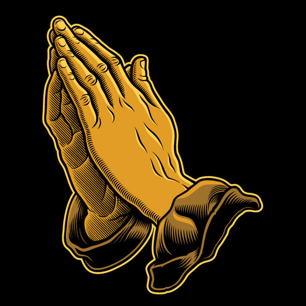 Praying Hands (Vector Art)