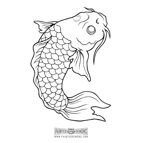 KOI FISH (VECTOR ART)