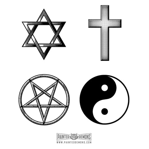 RELIGIOUS ICONS (VECTOR ART)