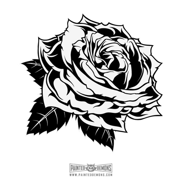 ROSE (VECTOR ART)