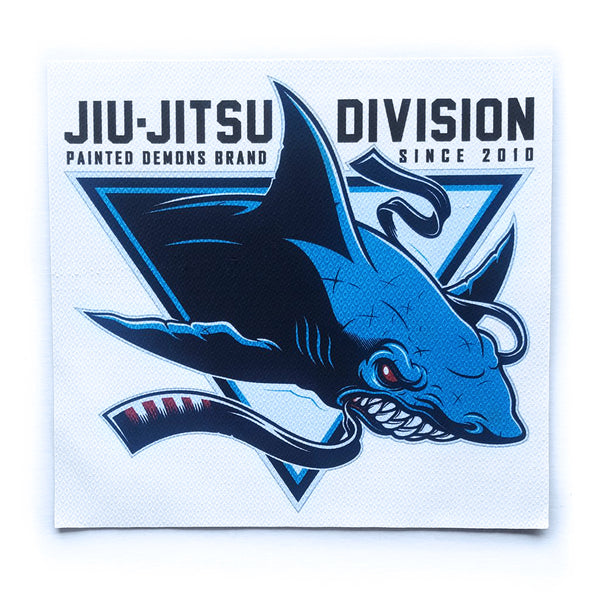 Shark Tank Patch - White