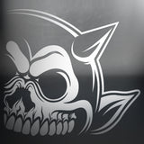 Right Horn - Skull Car Decal