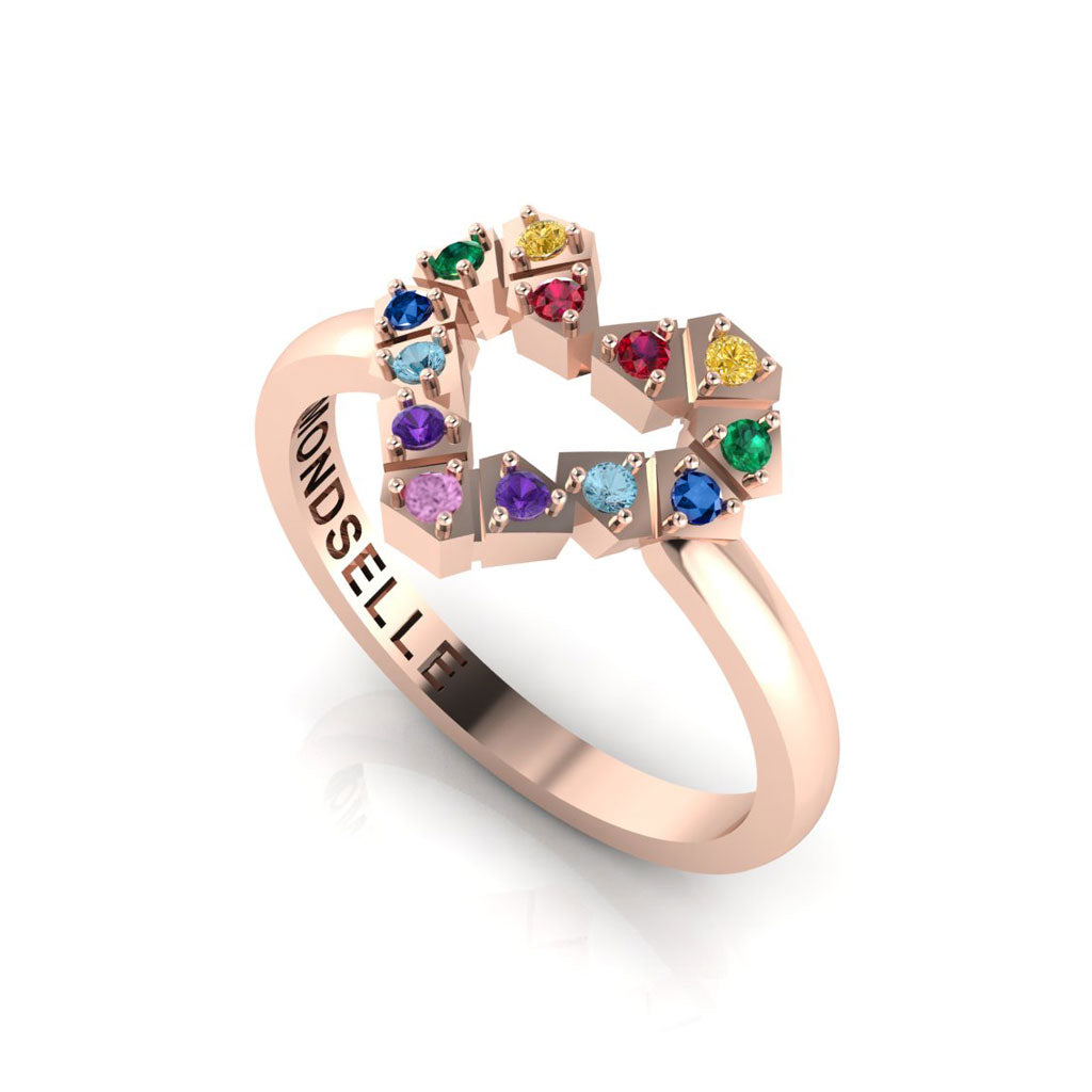 Color My Heart Ring