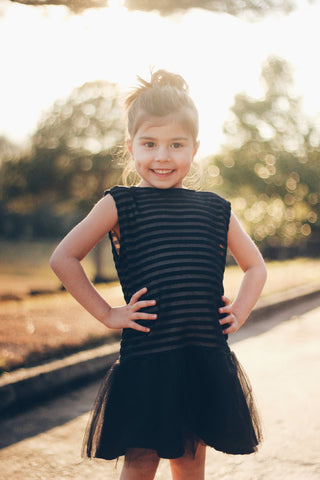 Girl's Little Black Dress