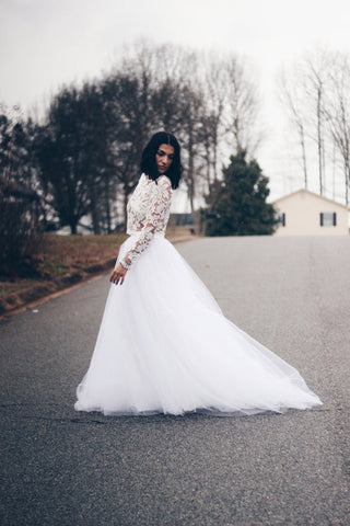 Wedding Tulle Skirt