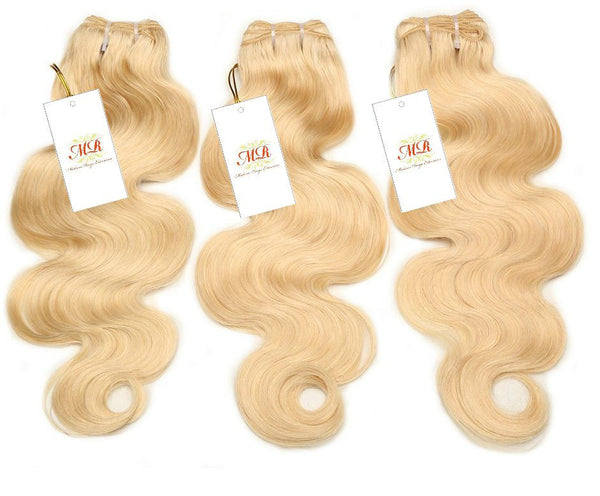 PREMIUM Blonde Body Wave - Madame Rouge Extensions