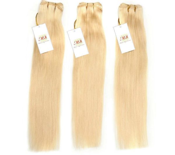 PREMIUM Silky Straight Blonde - Madame Rouge Extensions