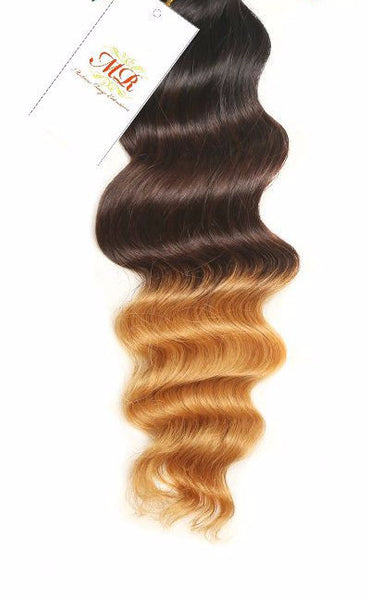 PREMIUM Body Wave 3-tone Ombre - Madame Rouge Extensions