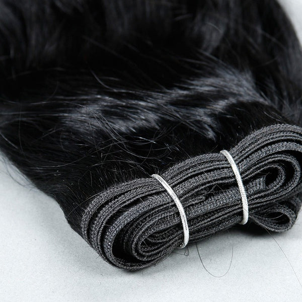 100% MINK Silky Straight Hair - Madame Rouge Extensions  - 2