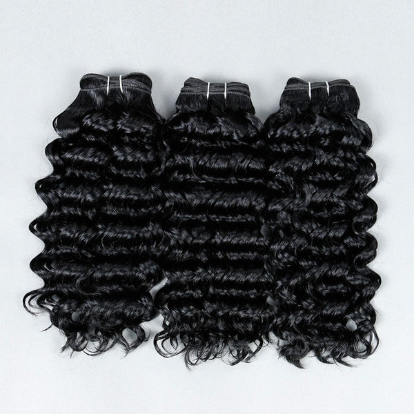 100% MINK Kinky Wave Hair - Madame Rouge Extensions  - 1