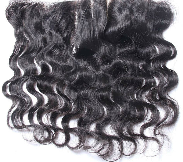 VIRGIN LACE FRONTAL CLOSURES W/4X4 SILK TOP - Madame Rouge Extensions  - 3