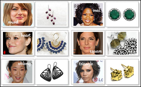 Artisan Earrings in Los Angeles Sherman Oaks on Ventura Boulevard Celebrity Face Shapes